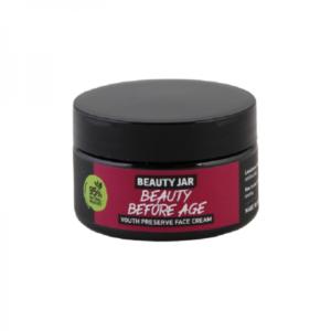 "Beauty Jar ""BEAUTY BEFORE AGE"" Κρέμα νυκτός για αντιγήρανση, 60ml"