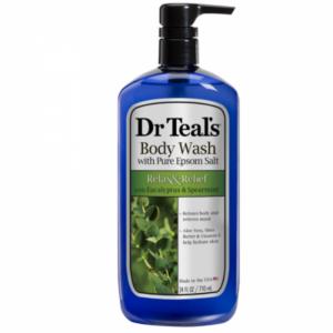 Dr Teal's Epsom Salt & Body Wash Eucalyptus 710ml